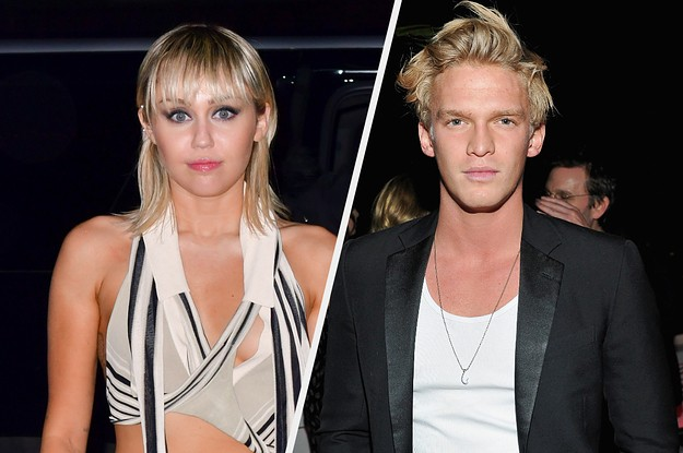 Miley Cyrus And Cody Simpson Have Reportedly Broken Up But Their Matching Tattoos Remain