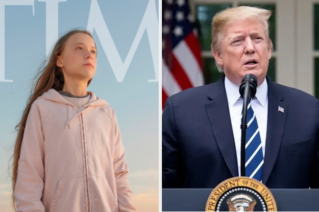 Greta Thunberg Changed Her Twitter Bio After Trump Mocked Her For Being Time's Person Of The Year