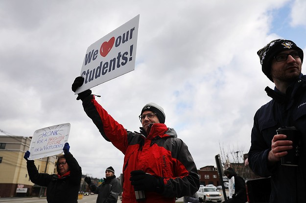 The West Virginia Teachers' Strike Is Shaping Up To Be A New Model For The Left