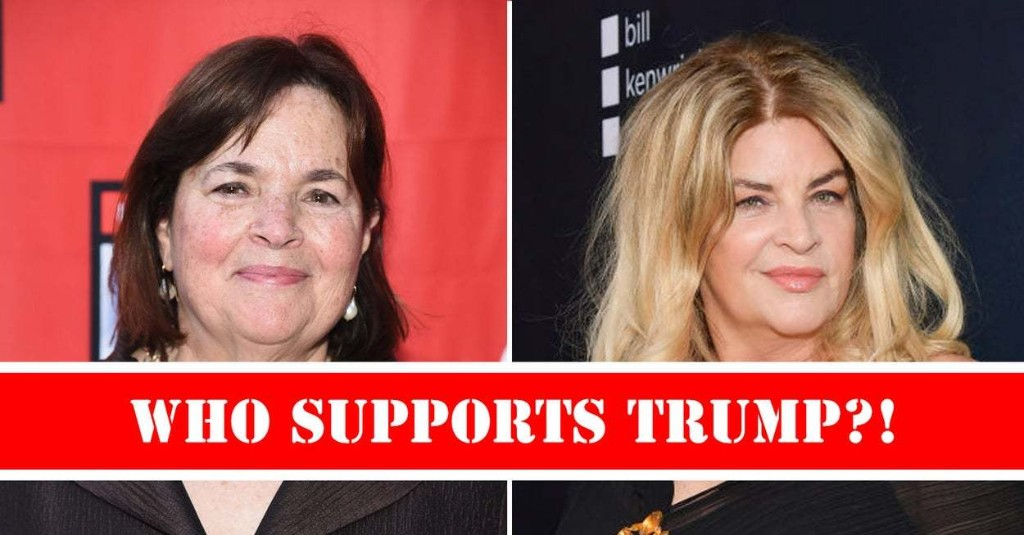 Can You Guess Which Of These Celebs Are Trump Supporters?