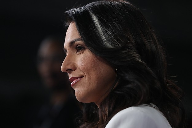 """Tulsi Gabbard Was The Only Member Of Congress To Vote """"Present"""" For Donald Trump's Impeachment"""