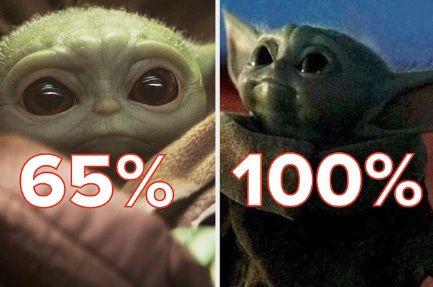 What % Baby Yoda Are You?