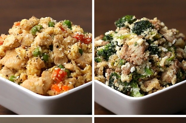"These ""Fried Rice"" Recipes Are Perfect If You're Dieting"