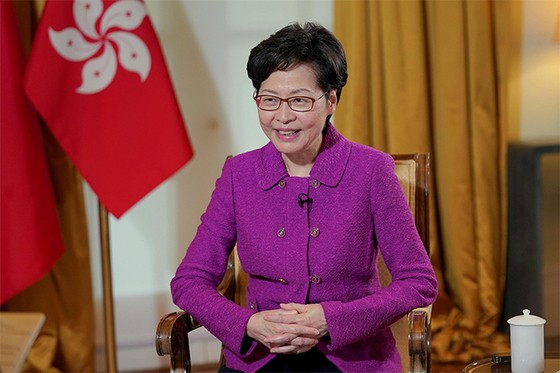 Hong Kong Leader Has to Sit on Piles of Cash Because of U.S. Sanctions