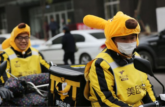 Trending in China: How Cute Rabbit Ears Are On the Frontline in Fight Between Delivery Firms