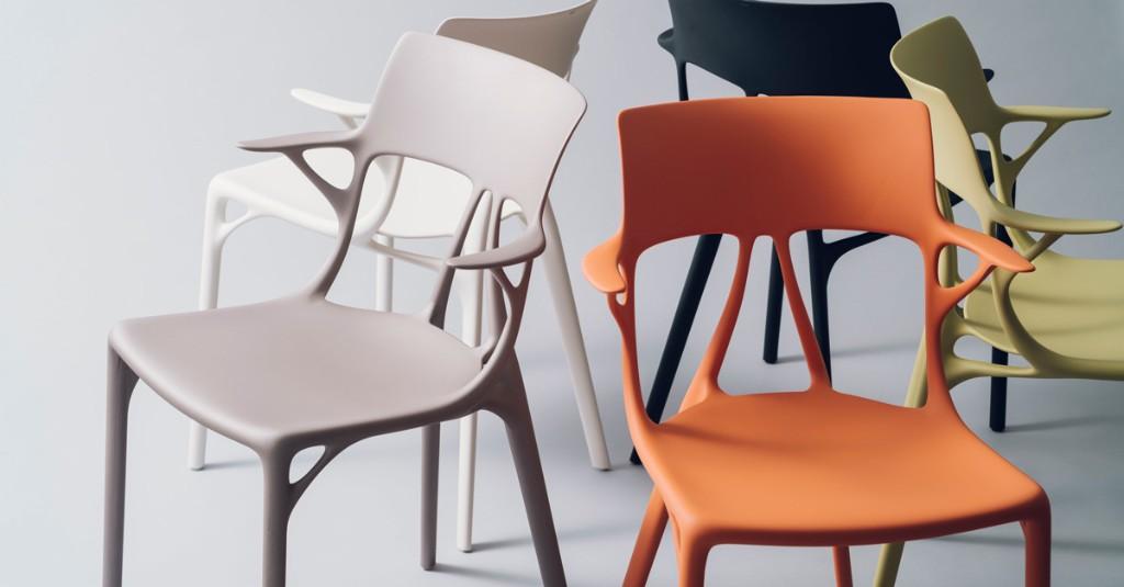 世界初! スタルクに学んだAIが生み出した心地いい椅子とは?