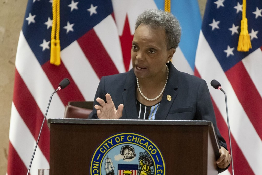 Chicago Mayor Lori Lightfoot's budget includes recurring property tax increase, 3-cent gas tax hike and layoffs for city workers, as she seeks to close $1.2B deficit