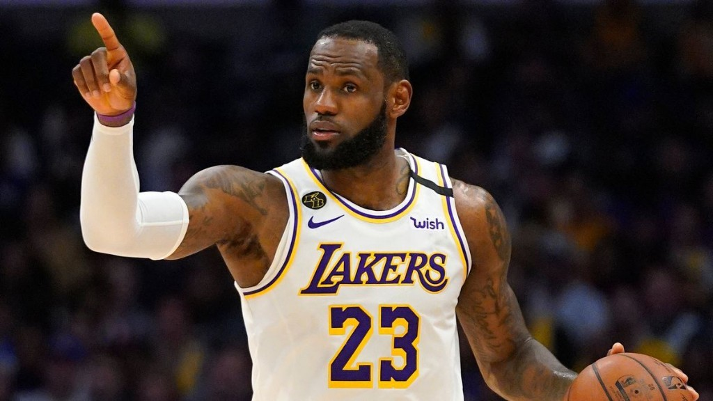 LeBron James won't wear social justice message on the back of his Lakers jersey