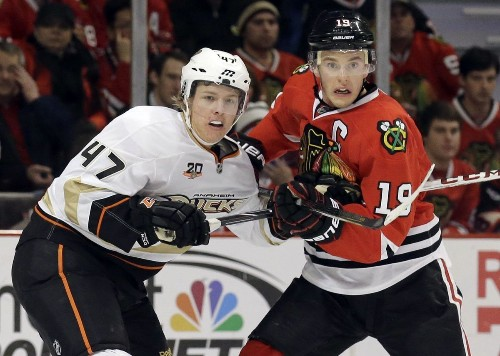 Blackhawks-Ducks playoff results