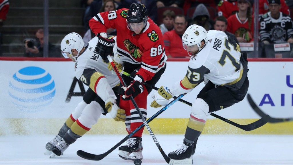 3 things to watch in the Blackhawks-Golden Knights playoff series, including goaltender intrigue and the Patrick Kane effect