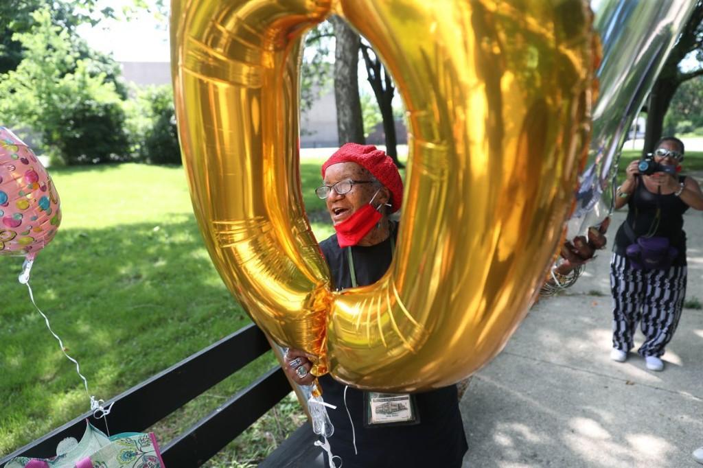 Helen Sinclair celebrates upcoming 100th birthday