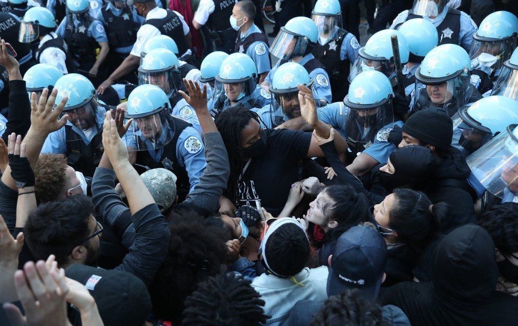 Activists call on court monitor to investigate how Chicago police handled George Floyd protests