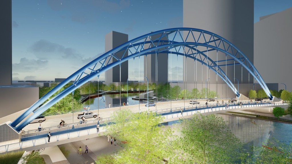 Lincoln Yards' $35 million bridge, with bike and pedestrian lanes, moves closer to reality
