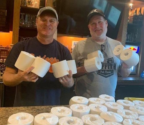 Restaurants turn to toilet paper giveaways to lure carryout customers