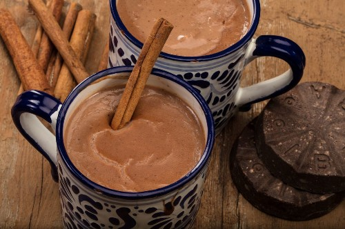 Making atole, a warm, liquid gift from ancient Mexico
