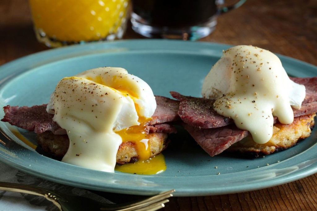 Leftover corned beef, mashed potatoes get post-St. Patrick's Day upgrade in an easy Irish Benedict