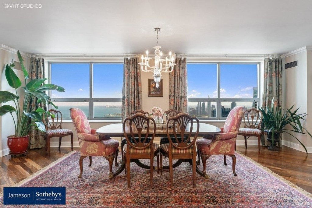 This $2 million Streeterville penthouse comes with its own boat slip and 4 parking spaces