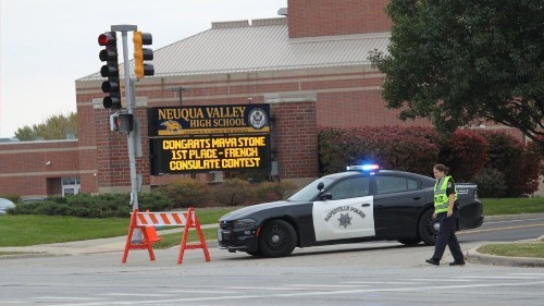Neuqua Valley High School evacuated after bomb threat, but no weapons or explosives found