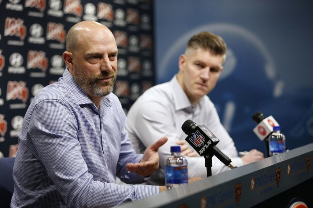 Behind the screens: Coronavirus concerns push Bears staff and players to make contingency plans for a virtual offseason program and draft weekend