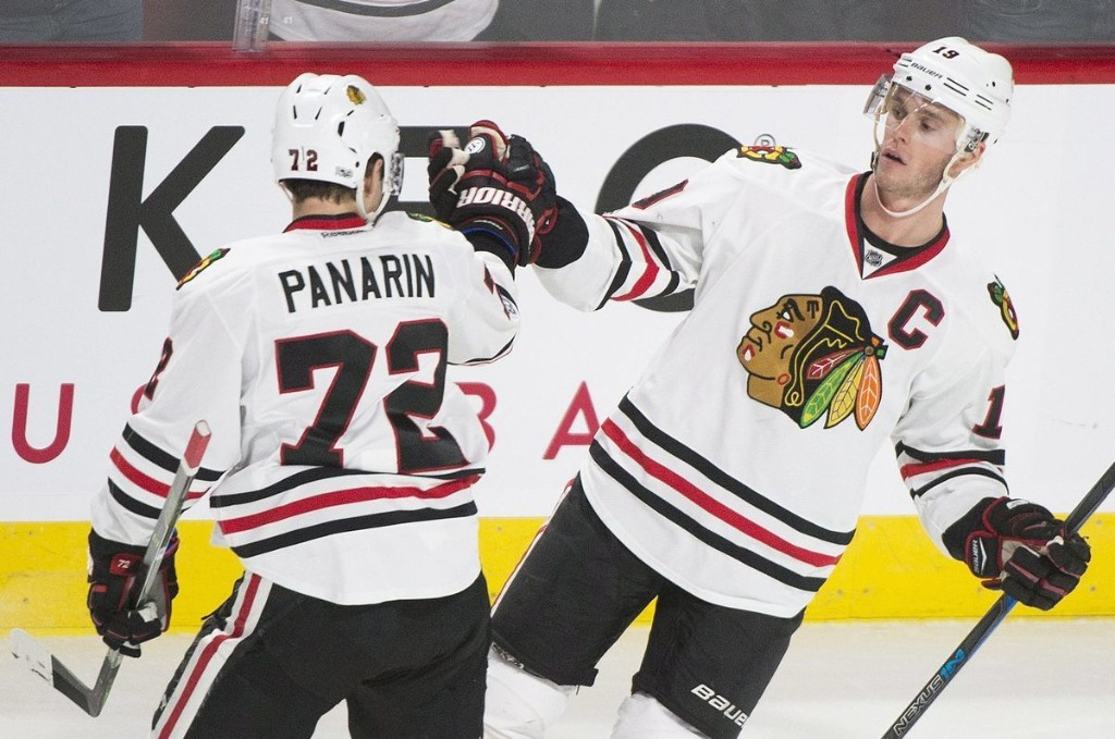 This is some Stanley Cup trick the Blackhawks are trying to pull off