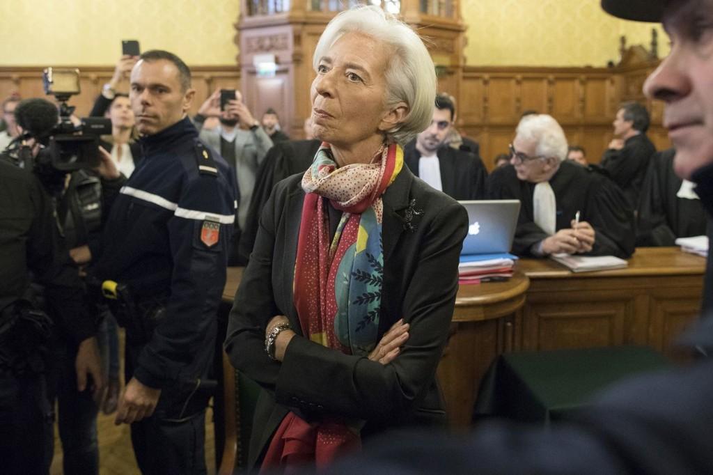 IMF board: Lagarde will remain as chief despite conviction