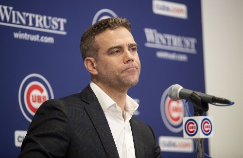 Column: Theo Epstein preaches accountability from the Cubs but won't explain why he let Joe Maddon go