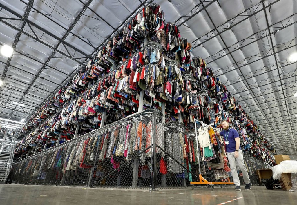 Walmart teams with ThredUP to sell used clothing online