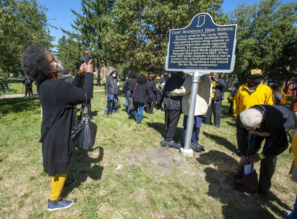 Historical marker dedicated at Gary Roosevelt: 'This place matters'