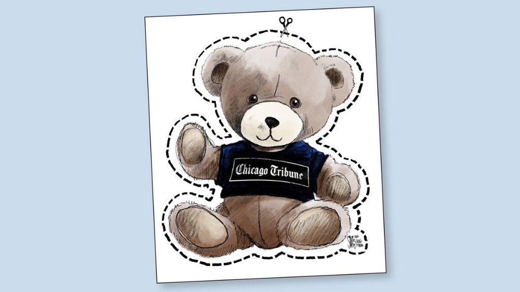 Join the #bearhunt in your neighborhood with this bear from editorial cartoonist Scott Stantis