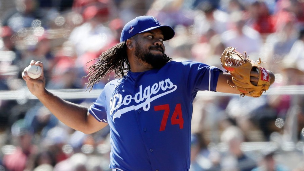 Dodgers pitcher Kenley Jansen reports to camp after having COVID-19