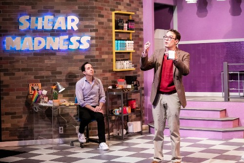 Review: Long-running 'Shear Madness,' back at the Mercury, is both whodunnit and whydothis
