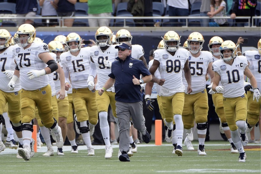 Notre Dame's 2020 football schedule is released — and the Irish won't play Navy, USC or any Big Ten teams this season