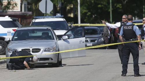 Father of 3 found shot to death in BMW on South Side