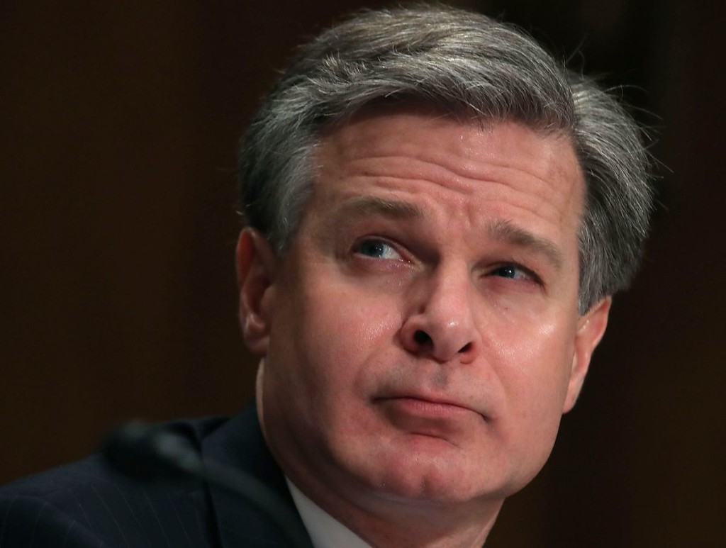 FBI Director Chris Wray says antifa is an ideology, not an organization — testimony that puts him at odds with President Trump