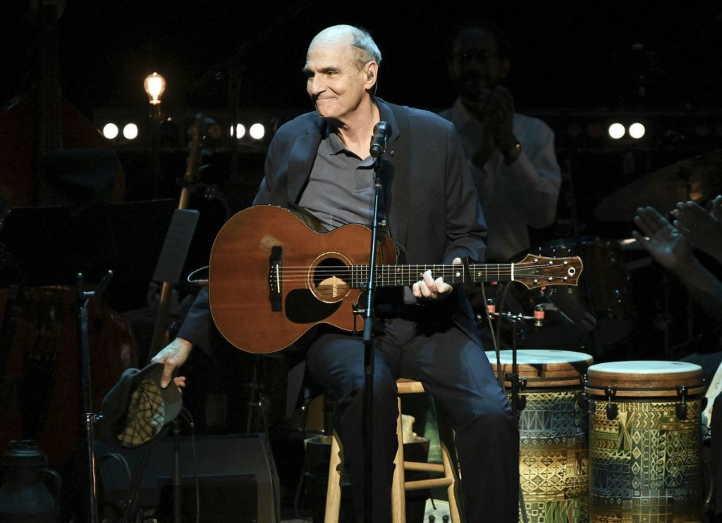 James Taylor tour dates include Chicago concert with Jackson Browne