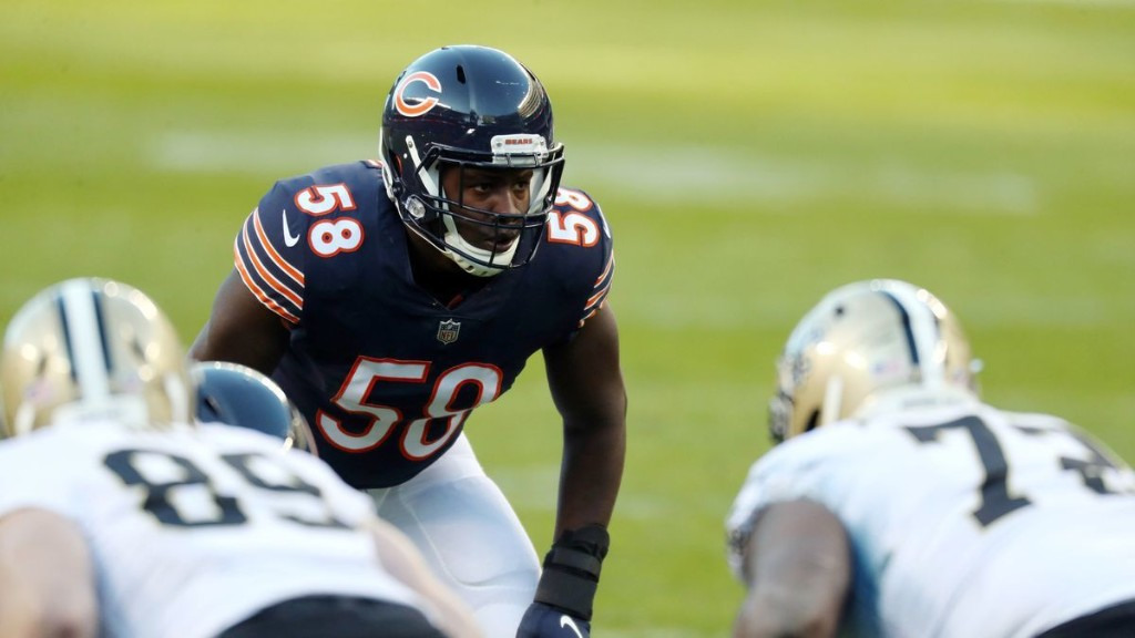 What's working on defense? What isn't? A look at the Chicago Bears at the break.