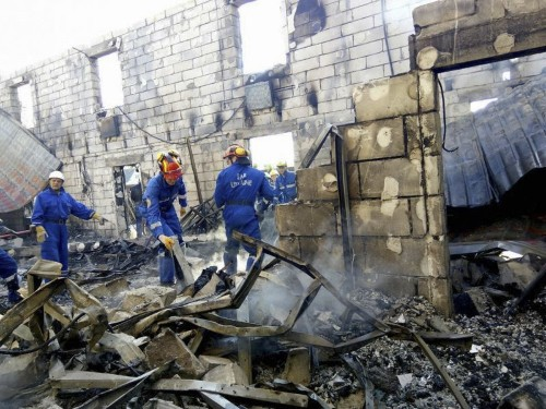 Fire guts Ukrainian home for the elderly, killing 17 and injuring 5