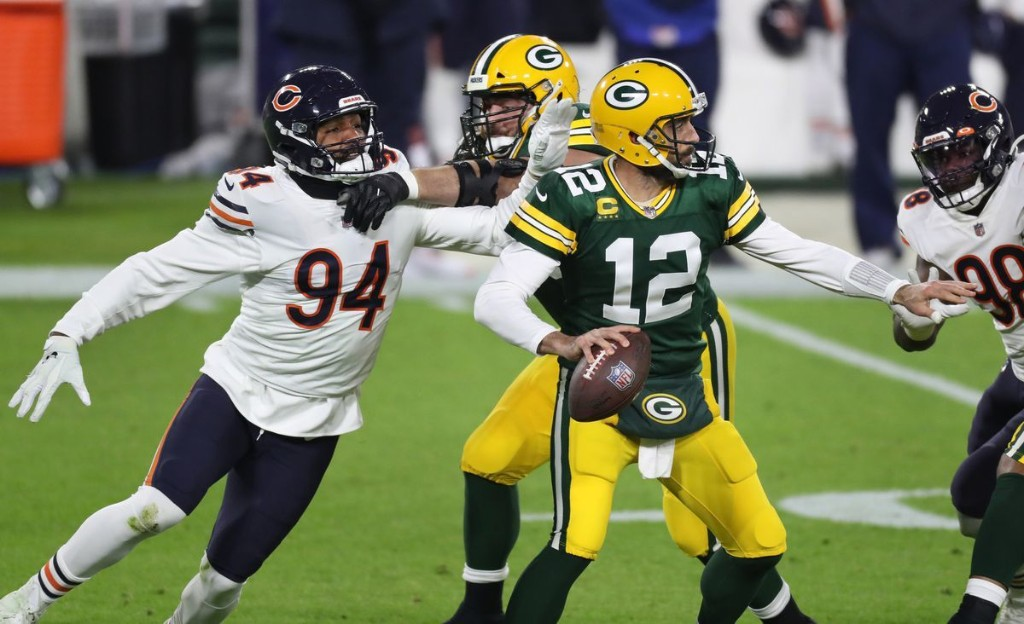 Column: As Aaron Rodgers once again carves out the Chicago Bears' heart with surgical precision, he shows them what they've been missing