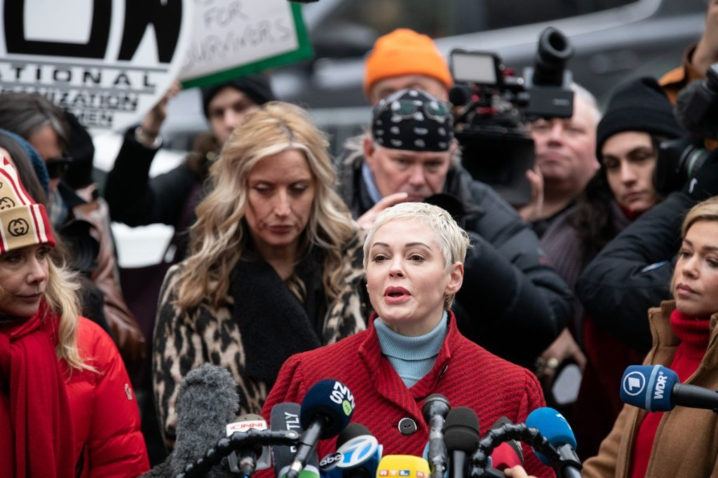 'I WON!': Rose McGowan claims victory in defamation suit from cocaine case lawyer Jose Baez, who went on to rep Harvey Weinstein