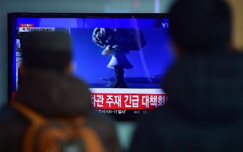 South Korea reports 'artificial earthquake' near North Korea nuclear test site