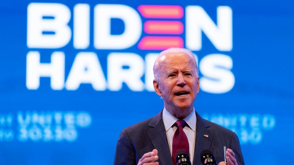 Joe Biden to Democrats: Keep focus on health care, not expanding Supreme Court