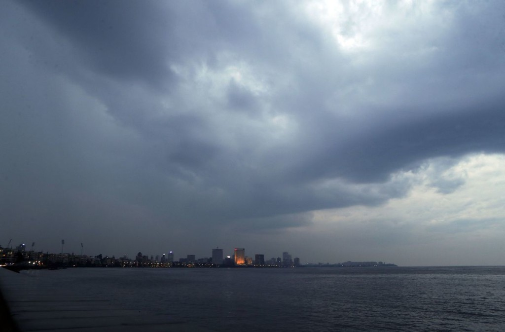 A rare cyclone in the Arabian Sea is barreling toward India's business capital Mumbai