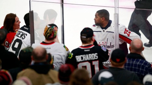 A nice idea for Blackhawks fans angry over the racist treatment of Devante Smith-Pelly