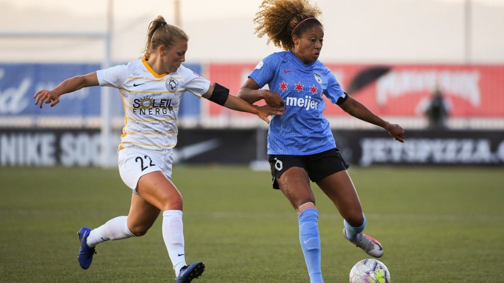 Chicago Red Stars beat Utah Royals 1-0 on Casey Short's late goal for their 1st win of the NWSL Challenge Cup