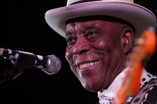 Chicago blues legend Buddy Guy works hard, but he used to work a lot harder, so it's cool