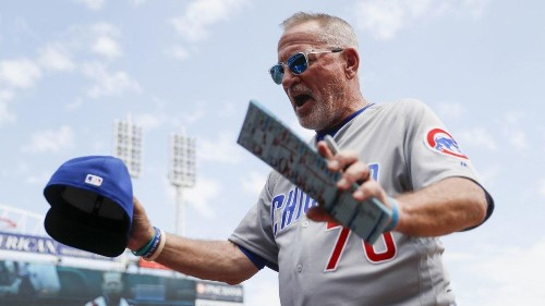 Cubs' Joe Maddon seeks adjustment to rules following Sunday night games