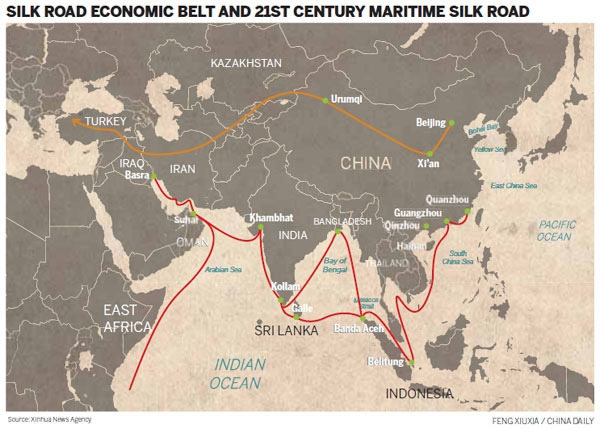 Belt and Road - cover
