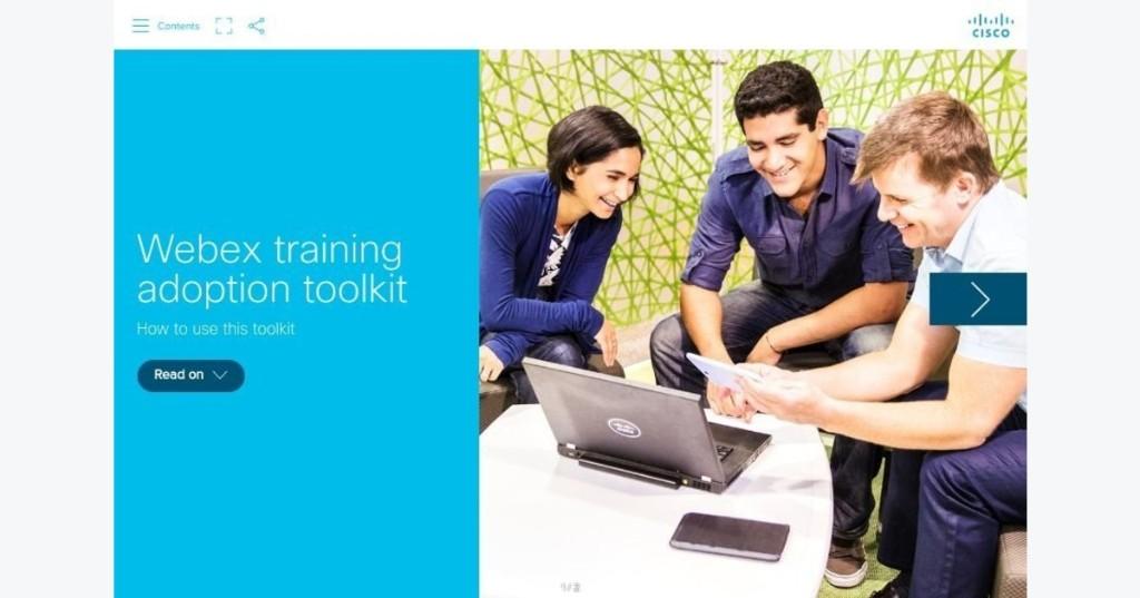 Webex Training adoption toolkit