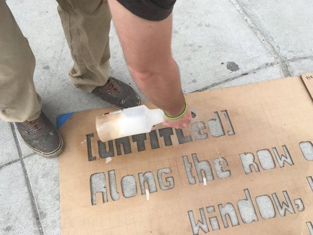 Boston's Secret Sidewalk Poems Add Some Cheer to Rainy Days