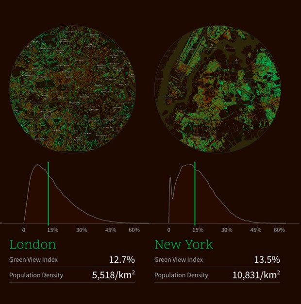 Mapping the Urban Tree Canopy in Major Cities